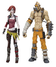 Image: Borderlands Kreig & Lilith 7-inch Action Figure Assortment  - Tmp Toys / Mcfarlane's Toys
