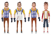 Image: Hello Neighbor 5-inch Action Figure Assortment  - Tmp Toys / Mcfarlane's Toys