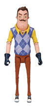 Image: Hello Neighbor the Neighbor 5-inch Action Figure Case  - Tmp Toys / Mcfarlane's Toys