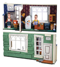 Image: Hello Neighbor Neighbors House Large Const Set Case  - Tmp Toys / Mcfarlane's Toys