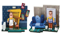 Image: Hello Neighbor Small Const Set Assortment  - Tmp Toys / Mcfarlane's Toys