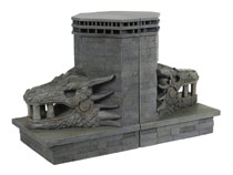 Image: Game of Thrones Bookends: Dragonstone Gate Dragon  - Dark Horse Comics