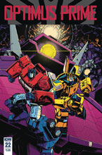 Image: Optimus Prime #22 (cover A - Zama) - IDW Publishing