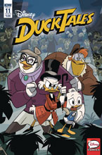 Image: Ducktales #11 (cover B - Ghiglione) - IDW Publishing