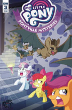 Image: My Little Pony: Ponyville Mysteries #3 (cover B - Murphy) - IDW Publishing