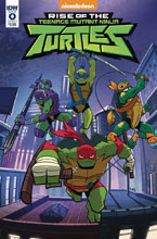 Image: Rise of Teenage Mutant Ninja Turtles #0 (cover A - Thomas) - IDW Publishing