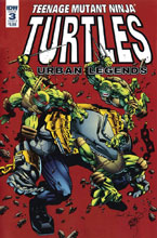 Image: Teenage Mutant Ninja Turtles: Urban Legends #3 (cover B - Fosco) - IDW Publishing