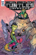 Image: Teenage Mutant Ninja Turtles Universe #24 (cover B - Tunica) - IDW Publishing