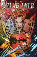 Image: Star Trek: Discovery - Succession #4 (cover A - Hernandez) - IDW Publishing