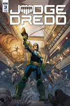 Image: Judge Dredd: Under Siege #3 (cover A - Dunbar) - IDW Publishing