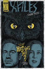 Image: X-Files: Case Files - Hoot Goes There? #1 (cover B - Lendl) - IDW Publishing