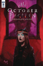 Image: October Faction Supernatural Dreams #5 (cover A - Worm) - IDW Publishing