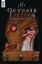 Image: October Faction Supernatural Dreams #5 (cover B - Worm) - IDW Publishing