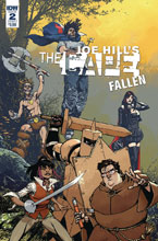 Image: Joe Hill: The Cape - Fallen #2 (cover A - Howard) - IDW Publishing