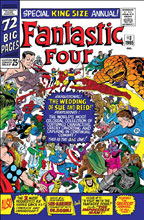 Image: True Believers: Fantastic Four - The Wedding of Reed and Sue #1 - Marvel Comics