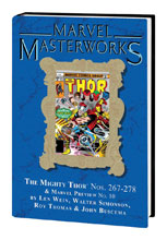 Image: Marvel Masterworks Mighty Thor Vol. 17 HC  (DM variant cover) (267) - Marvel Comics