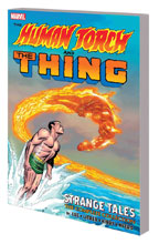 Image: Human Torch and Thing: Strange Tales Complete Collection SC  - Marvel Comics