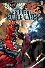 Image: Project Superpowers: Chapter Three #0 (cover D incentive - Sergio Davila) (30-copy) - Dynamite