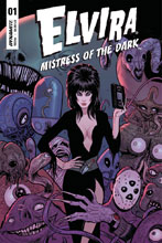 Image: Elvira: Mistress of Dark #1 (cover C - Strahm) - Dynamite