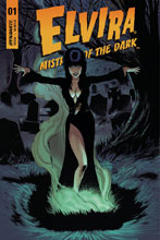 Image: Elvira: Mistress of Dark #1 (cover D - Cermak) - Dynamite