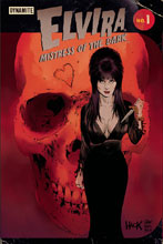 Image: Elvira: Mistress of Dark #1 (cover E - Hack & Francavilla) - Dynamite