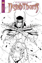 Image: Dejah Thoris Vol. 02 #6 (cover E incentive - McKone B&W) (20-copy) - Dynamite