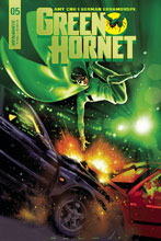Image: Green Hornet #5 (cover B - Galindo) - Dynamite