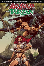 Image: Red Sonja / Tarzan #3 (cover D subscription - Castro) - Dynamite