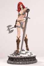 Image: Women Dynamite Statue: Red Sonja  (Diamond Eye Proof) - Dynamite