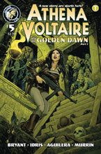 Image: Athena Voltaire 2018 #5 (cover B - Johnson) - Action Lab Entertainment