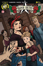 Image: Black Betty #6 (cover B - Dantas Tattered & Torn) - Action Lab - Danger Zone