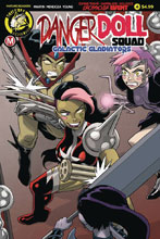 Image: Danger Doll Squad: Galactic Gladiators #4 (cover A - Young) - Action Lab - Danger Zone