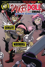 Image: Danger Doll Squad: Galactic Gladiators #4 (cover B - Young risque) - Action Lab - Danger Zone