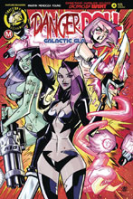 Image: Danger Doll Squad: Galactic Gladiators #4 (cover C - Trom) - Action Lab - Danger Zone