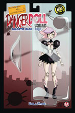 Image: Danger Doll Squad: Galactic Gladiators #4 (cover E - Mendoza) - Action Lab - Danger Zone