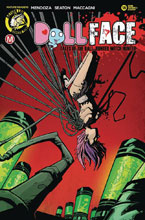 Image: Dollface #18 (cover D - Stanley Pin Up Tattered & Torn) - Action Lab - Danger Zone