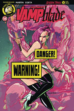 Image: Vampblade: Season 3 #5 (cover D - Kintz risque) - Action Lab - Danger Zone