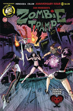 Image: Zombie Tramp #50 (cover A - Celor) - Action Lab - Danger Zone