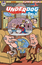 Image: Underdog & Pals #1 (variant cover - Gallant Commander McBragg) - American Mythology Productions
