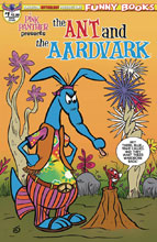 Image: Pink Panther Presents: The Ant & the Aardvark #1 (variant cover - Blue Hippy) - American Mythology Productions