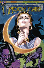 Image: Moon Maid #1 (variant cover - Rearte Visions of the Moon) - American Mythology Productions