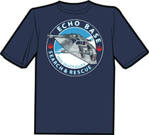 Image: Echo Base T-Shirt: Search & Rescue  (XL) - Antarctic Press