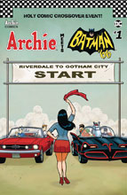Image: Archie Meets Batman '66 #1 (cover F - Templeton) - Archie Comic Publications