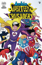 Image: Archie's Superteens vs. Crusaders #2 (cover A - Williams Connecting) - Archie Comic Publications