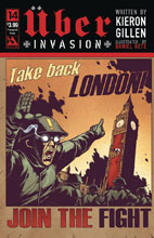 Image: Uber: Invasion #14 (variant cover - Propaganda Poster) - Avatar Press Inc
