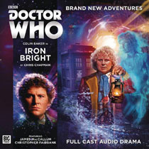 Image: Doctor Who Audio CD: 6th Doctor - Iron Bright  - Big Finish