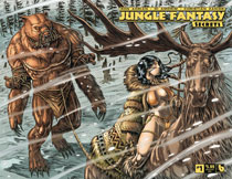 Image: Jungle Fantasy: Secrets #1 (variant cover - wraparound) - Boundless Comics