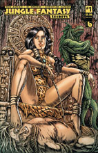 Image: Jungle Fantasy: Secrets #1 (variant cover - Queen Sasha) - Boundless Comics