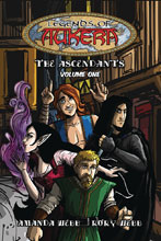 Image: Legends of Aukera Ascendants Vol. 01 GN  - Caliber Entertainment
