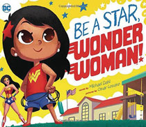 Image: Be a Star Wonder Woman Young Readers Board Book  - Capstone Press